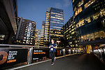 Runners participate at the Bloomberg Square Mile Relay in London, United Kingdom. Photo by Richard Langdon / Power Sport Images