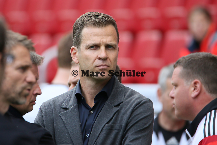 Manager Oliver Bierhoff - Abschusstraining Nationalmannschaft in Mainz