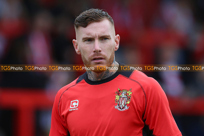 Jack King of Stevenage during Stevenage vs Hartlepool United, Sky Bet EFL League 2 Football at the Lamex Stadium on 3rd September 2016