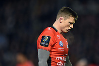 Chris Ashton of RC Toulon looks dejected. European Rugby Champions Cup match, between Bath Rugby and RC Toulon on December 16, 2017 at the Recreation Ground in Bath, England. Photo by: Patrick Khachfe / Onside Images