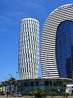 Hotel Marriot Courtyard im ehemaligen Justizpalast und Rathaus, Batumi, Adscharien - Atschara, Georgien, Europa<br /> Hotel Marriot Courtyard and City hall, Batumi, Adjara,  Georgia, Europe