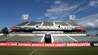 Cary, North Carolina  - Saturday September 09, 2017: Sahlen's Stadium prior to a regular season National Women's Soccer League (NWSL) match between the North Carolina Courage and the Houston Dash at Sahlen's Stadium at WakeMed Soccer Park. The Courage won the game 1-0.