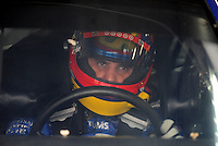 Oct. 15, 2009; Concord, NC, USA; NASCAR Sprint Cup Series driver Juan Pablo Montoya during practice for the Banking 500 at Lowes Motor Speedway. Mandatory Credit: Mark J. Rebilas-