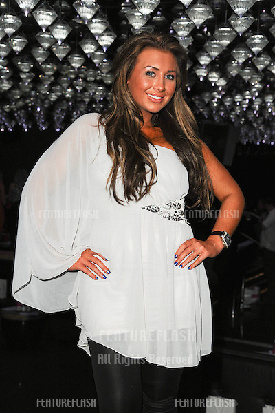 Lauren Goodger at the Olivia Rubin show as part of London Fashion Week, London. 19/02/2011  Picture by: Steve Vas / Featureflash