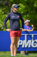 Charley Hull (ENG) looks over her tee shot on 15 during round 2 of the 2018 KPMG Women's PGA Championship, Kemper Lakes Golf Club, at Kildeer, Illinois, USA. 6/29/2018.<br /> Picture: Golffile | Ken Murray<br /> <br /> All photo usage must carry mandatory copyright credit (© Golffile | Ken Murray)