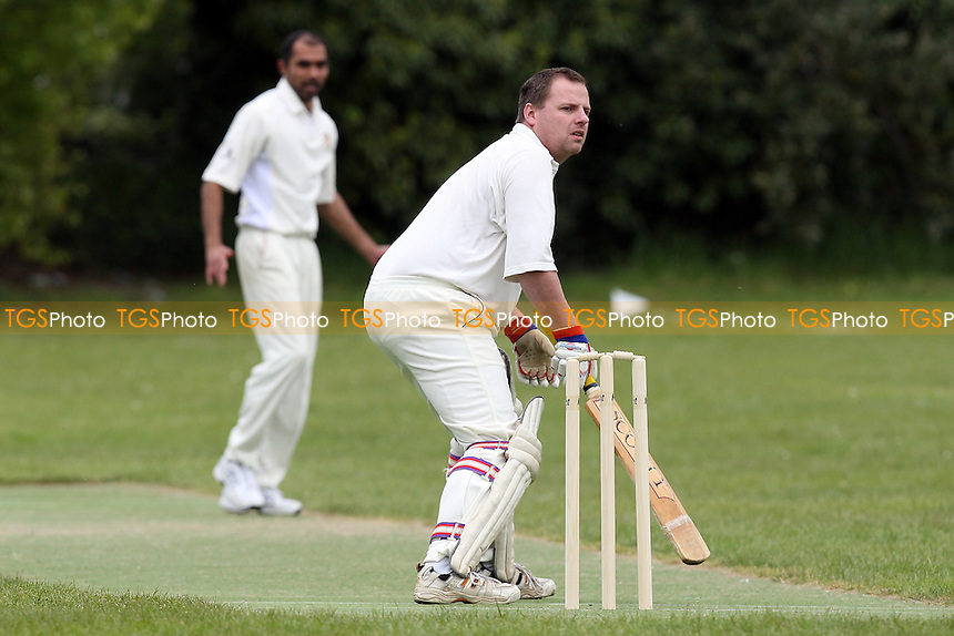 P Scott in batting action for Upminster - Upminster CC 6th XI vs Gidea Park & Romford CC 5th XI - Essex Cricket League at Gaynes Park School - 15/05/10 - MANDATORY CREDIT: Gavin Ellis/TGSPHOTO - Self billing applies where appropriate - Tel: 0845 094 6026