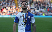 Blackburn Rovers'  Adam Armstrong <br /> <br /> Photographer Rachel Holborn/CameraSport<br /> <br /> The EFL Sky Bet League One - Blackburn Rovers v Oxford United - Saturday 5th May 2018 - Ewood Park - Blackburn<br /> <br /> World Copyright &copy; 2018 CameraSport. All rights reserved. 43 Linden Ave. Countesthorpe. Leicester. England. LE8 5PG - Tel: +44 (0) 116 277 4147 - admin@camerasport.com - www.camerasport.com