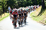 Thomas De Gendt (BEL) Lotto-Soudal and Team Sunweb on front of the peloton during Stage 16 of the 104th edition of the Tour de France 2017, running 165km from Le Puy-en-Velay to Romans-sur-Isere, France. 18th July 2017.<br /> Picture: ASO/Alex Broadway | Cyclefile<br /> <br /> <br /> All photos usage must carry mandatory copyright credit (&copy; Cyclefile | ASO/Alex Broadway)