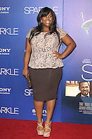 HOLLYWOOD, CA - AUGUST 16: Amber Riley at the 'Sparkle' film premiere at Grauman's Chinese Theatre on August 16, 2012 in Hollywood, California. &copy;&nbsp;mpi26/MediaPunch Inc. /NortePhoto.com<br />