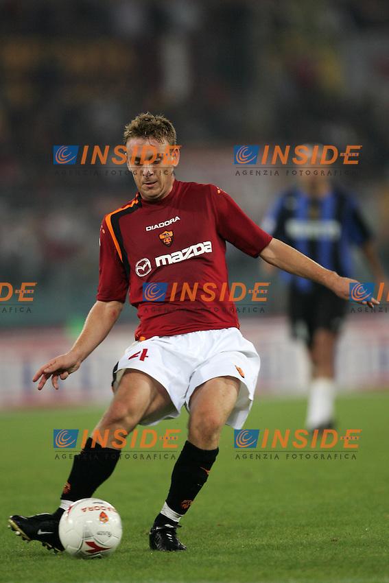 Roma 3/10/2004 Campionato Italiano Serie A <br /> 5a giornata - Matchday 5 <br /> Roma Inter 3-3 AS Roma Daniele De Rossi. Foto Andrea Staccioli Insidefoto