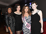 Georgia McCann celebrating her 18th birthday in Brú with friends Mary Rose Porter, Dearbhla Roden and Henrielle Matondo. Photo:Colin Bell/pressphotos.ie