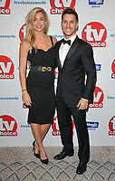 Gemma Atkinson and Gorka Marquez at the TV Choice Awards 2018, The Dorchester Hotel, Park Lane, London, England, UK, on Monday 10 September 2018.<br /> CAP/CAN<br /> &copy;CAN/Capital Pictures