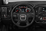Car pictures of steering wheel view of a 2016 GMC Sierra-2500HD 2WD-Regular-Cab-Long-Box 2 Door Pick-up Steering Wheel