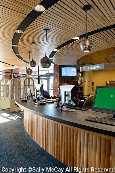 UVM Bailey Howe Library Circulation Desk Area