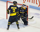 Ryan Cook (Merrimack - 2), Collin Delia (Merrimack - 1) - The visiting Merrimack College Warriors defeated the Boston University Terriers 4-1 to complete a regular season sweep on Friday, January 27, 2017, at Agganis Arena in Boston, Massachusetts.The visiting Merrimack College Warriors defeated the Boston University Terriers 4-1 to complete a regular season sweep on Friday, January 27, 2017, at Agganis Arena in Boston, Massachusetts.