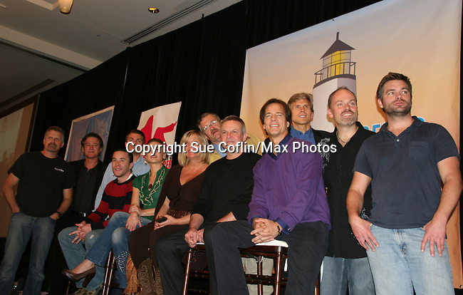 Guiding Light Cast  - So Long Springfield celebrating 7 wonderful decades of Guiding Light Event (Saturday afternoon) come to see fans at the Hyatt Regency Pittsburgh International Airport, in Pittsburgh, PA. during the weekend of October 24 and 25, 2009. (Photo by Sue Coflin/Max Photos)