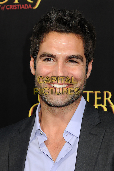 "Jordi Vilasuso.""For Greater Glory"" Los Angeles Premiere held at the AMPAS Samuel Goldwyn Theater, Beverly Hills, California, USA..May 31st, 2012.headshot portrait grey gray purple shirt stubble facial hair .CAP/ADM/BP.©Byron Purvis/AdMedia/Capital Pictures."