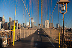 Brooklin Bridge in the morning