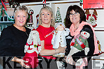 Claire Hoare, Geraldine O'Sullivan and Bridget Moran at the Christmas craft fair in Moriarty's furniture on Thursday night
