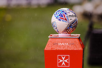 The match ball during the Sky Bet Championship match between Sheff United and Cardiff City at Bramall Lane, Sheffield, England on 2 April 2018. Photo by Stephen Buckley / PRiME Media Images.