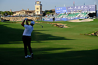 Jon Rahm (ESP) during the 1st round of the DP World Tour Championship, Jumeirah Golf Estates, Dubai, United Arab Emirates. 15/11/2018<br /> Picture: Golffile | Fran Caffrey<br /> <br /> <br /> All photo usage must carry mandatory copyright credit (&copy; Golffile | Fran Caffrey)
