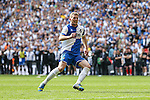 Lee Mansell of Bristol Rovers watches as his penalty wind the game during the 2015 Vanarama Conference Promotion Final match between Grimsby Town and Bristol Rovers at Wembley Stadium, London<br /> Picture by David Horn/eXtreme aperture photography +44 7545 970036<br /> 17/05/2015
