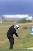 Graeme McDowell (NIR) plays is 2nd shot on the 5th hole of Monterey Peninsula CC during Saturday's Round 3 of the 2018 AT&amp;T Pebble Beach Pro-Am, held over 3 courses Pebble Beach, Spyglass Hill and Monterey, California, USA. 10th February 2018.<br /> Picture: Eoin Clarke | Golffile<br /> <br /> <br /> All photos usage must carry mandatory copyright credit (&copy; Golffile | Eoin Clarke)