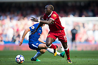 Liverpool's Sadio Mane in action <br /> <br /> Photographer Craig Mercer/CameraSport<br /> <br /> The Premier League - Chelsea v Liverpool - Sunday 6th May 2018 - Stamford Bridge - London<br /> <br /> World Copyright &copy; 2018 CameraSport. All rights reserved. 43 Linden Ave. Countesthorpe. Leicester. England. LE8 5PG - Tel: +44 (0) 116 277 4147 - admin@camerasport.com - www.camerasport.com