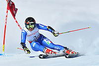 February 16, 2017: Sofia GOGGIA (ITA) competing in the women's giant slalom event at the FIS Alpine World Ski Championships at St Moritz, Switzerland. Photo Sydney Low