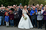 The race passes by a wedding during Stage 3 of the Tour de Yorkshire 2017 running 194.5km from Bradford/Fox Valley to Sheffield, England. 30th April 2017. <br /> Picture: ASO/P.Ballet | Cyclefile<br /> <br /> <br /> All photos usage must carry mandatory copyright credit (&copy; Cyclefile | ASO/P.Ballet)