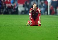 FUSSBALL   1. BUNDESLIGA  SAISON 2011/2012   13. Spieltag FC Bayern Muenchen - Borussia Dortmund        19.11.2011 Arjen Robben (FC Bayern Muenchen)