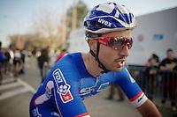 Nacer Bouhanni (FRA) post-race<br /> <br /> GP Le Samyn 2014