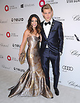 Vanessa Hudgens and Austin Butler attends the 2014 Elton John AIDS Foundation Academy Awards Viewing Party in West Hollyood, California on March 02,2014                                                                               © 2014 Hollywood Press Agency