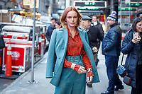 NOVA YORK, EUA, 07.12.2018 - CELEBRIDADES-EUA - A atriz norte-americana kate Bosworth é vista na regiao da Times Square na Ilha de Manhattan em Nova York nesta sexta-feira, 07. (Foto: Vanessa Carvalho/Brazil Photo Press)
