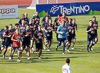 ritiro precampionato Napoli Calcio a  Dimaro 11 Luglio 2015<br /> <br /> Preseason summer training of Italy soccer team  SSC Napoli  in Dimaro Italy July 11, 2015