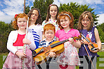 MUSICAL KIDS: An art, music and drama summer camp kept children in Kilflynn entertained last week. Pictured were: Amy Cronin, Shauna Cronin, Caoilainn Stafford, Oisin Stafford, Niamh Horgan and Niamh Culloty.