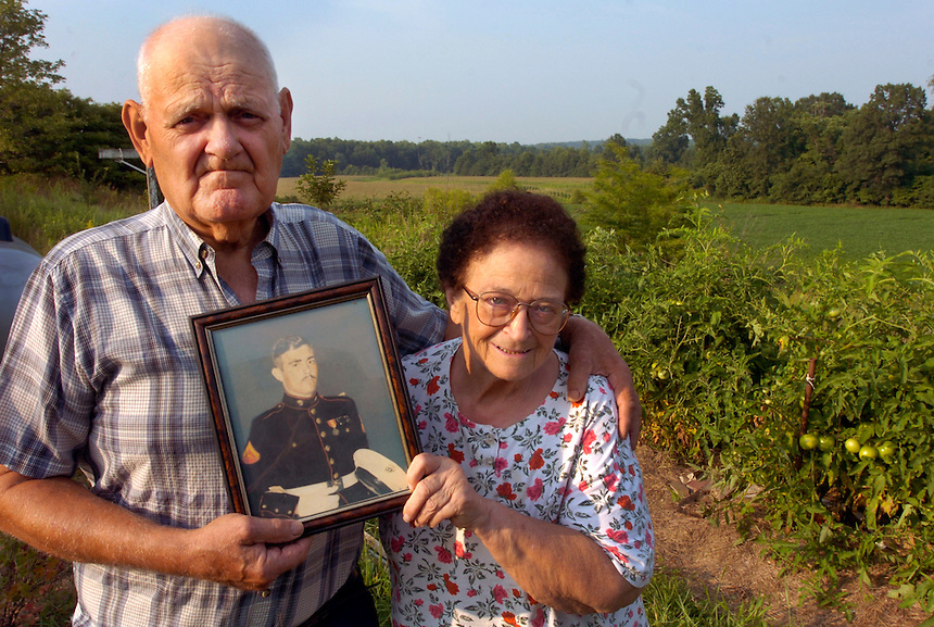 Wilma and Guy Crody are the parents of a Vietnam vet whose remains were recently found and who will be buried at Arlington Cemetery.