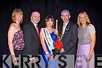 KERRY ROSE: The Kerry Rose 2011 Si?le Ni? Dheargain with Mark Sullivan the manager of the Ballyroe Heights hotel and the organiser's from the Kerry Rose Centre at the Ballyroe Heights hotel on Saturday l-r: Honor Hurley, Denis Griffin, Kerry Rose 2011 Si?le Ni? Dheargain, Mark Sullivan and Rebecca Kemp.