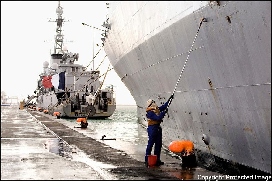 """Décembre 2008/ Tunis/ Entretien de """"La Jeanne""""."""