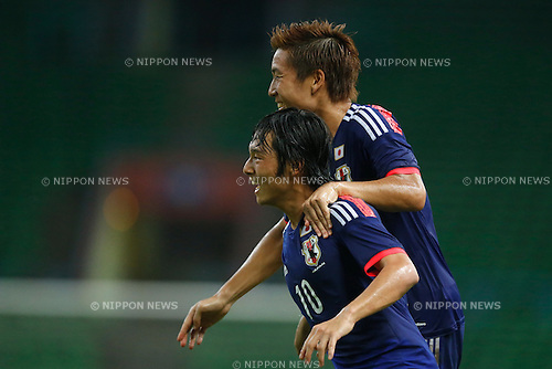 Shoya Nakajima (JPN), MARCH 29, 2015 - Football / Soccer : AFC U-23 Championship 2016 Qualification Group I match between U-22 Japan - U-22 Vietnam at Shah Alam Stadium in Shah Alam, Malaysia. (Photo by Sho Tamura/AFLO SPORT)