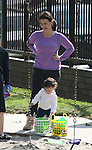 "3-14-09 Exclusive.Justine Bateman playing in a park with her son in Beverly hills ca.Bateman suffered from anorexia and bulumia for 10 years, during her ""Family Ties"" (1982) days. ...AbilityFilms@yahoo.com.805-427-3519.www.AbilityFilms.com."