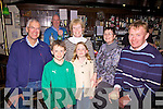 Enjoying the ceol agus craic at the Fe?ile in the Fishermans Bar on Sunday evening were front l-r; Lara O'Shea, Si?ofra O'Shea, back l-r; Vincent Rogan, Peter Huggard(Proprietor), Bri?d Moran, Maura Moran & John O'Shea.