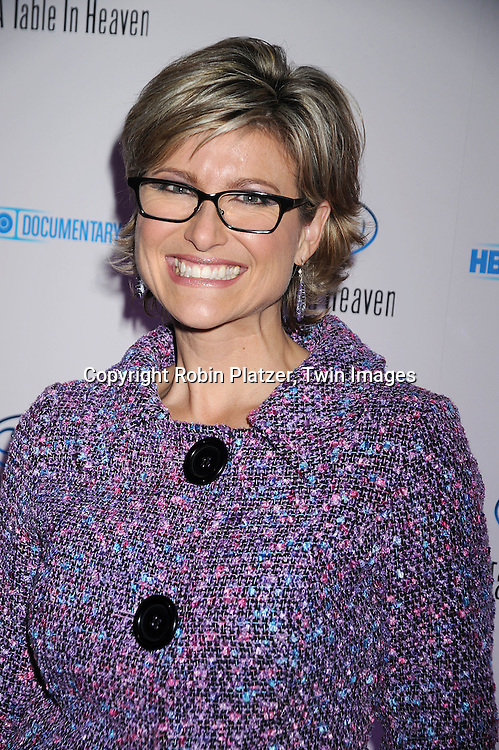 "Ashleigh Banfield ..posing for photographers at the party for The HBO Documentary  ""Le Cirque: A Table in Heaven"" at Le Cirque..in New York City on December 3, 2008.....Robin Platzer, Twin Images"