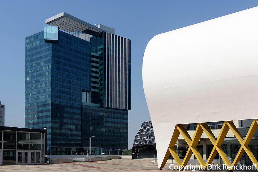 UNO-City und Austria Center Vienna, Wien, &Ouml;sterreich<br /> UNO-City and Austria center Vienna, Vienna, Austria