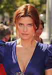 LOS ANGELES, CA - SEPTEMBER 15: Lake Bell arrives at the 2012 Primetime Creative Arts Emmy Awards at Nokia Theatre L.A. Live on September 15, 2012 in Los Angeles, California.