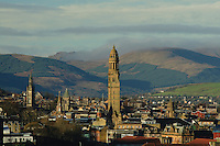 The Victoria Tower and the Cowal Hills, Greenock, Inverclyde<br /> <br /> Copyright www.scottishhorizons.co.uk/Keith Fergus 2011 All Rights Reserved