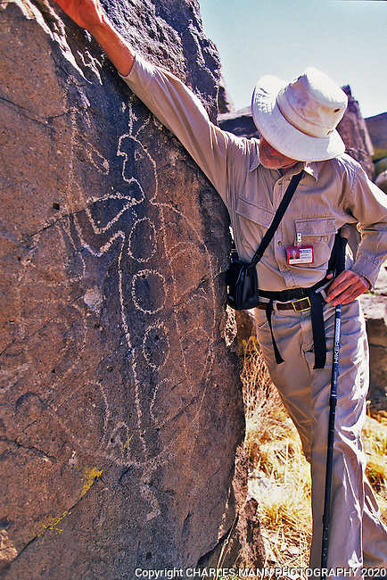 Hunting for petroglyphs in New Mexico can be an opportunity to have an encounter up close and personal.