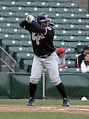 May 26, 2004:  Victor Diaz of the Norfolk Tides, Triple-A International League affiliate of the New York Mets, during a game at Frontier Field in Rochester, NY.  Photo by:  Mike Janes/Four Seam Images