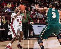 Stanford, CA; Monday December 21, 2015; Men's Basketball, Stanford vs. Sacramento State