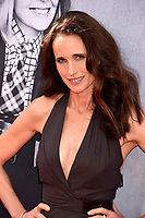 Andie MacDowell at the AFI Life Achievement Award Gala honoring actress Diane Keaton at the Dolby Theatre, Los Angeles, USA 08 June  2017<br /> Picture: Paul Smith/Featureflash/SilverHub 0208 004 5359 sales@silverhubmedia.com